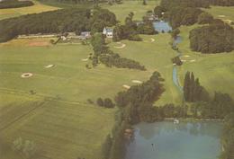 37. BALLAN MIRE. VUE AÉRIENNE DU GOLF DE TOURAINE. CARTON DE REPAS. ANNÉE 1978 - Golf