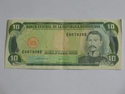 10 Diez Pesos Oro - Banco Central De Le Republica Dominicana **** EN ACHAT IMMEDIAT **** - Dominicaine