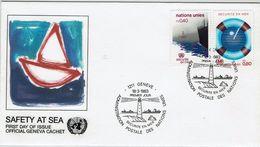 ONU Geneve UNO Vereinte Nationen Genf 1983 - MiNr 112-113 FDC - Leuchturm - Sonstige - Europa