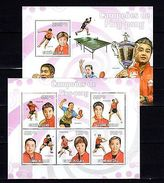 Guinea-Bissau 2009 Sport Ping-pong MNH -(V-19) - Olympic Games