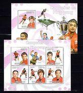 Guinea-Bissau 2009 Sport Ping-pong MNH -(V-19) - Jeux Olympiques