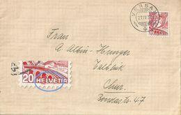 Brief  Versam - Chur             1937 - Schweiz
