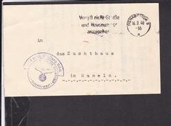 Brief Stempel Osnabrück 1940 - Briefe U. Dokumente