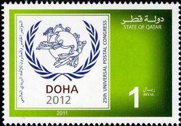 Qatar - 2011 - 25th Universal Postal Congress - Mint Stamp - Qatar