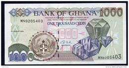 GHANA : Banconota  1000 Cedis - 2003 - FDS - Ghana