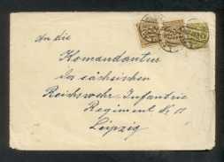 DR 1923, Inflation, Bedarfsbrief, Mi. #  318 AP(5x), 319 APa, 320 A,  323 AP B (4x), Geprüft: Infla Berlin, Signiert - Oblitérés
