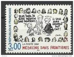 "FR YT 3205 "" Médecins Sans Frontières "" 1998 Neuf** - France"