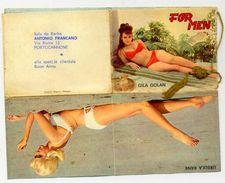 Calendarietto - Formen - Gila Golan - Ursola Rank - Sala Da Barba - Portocannone 1969 - Calendari