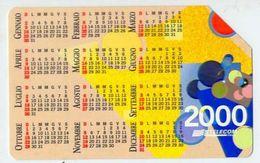 Calendarietto - Telecom 2000 - Calendari