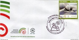 Lote 2016-10F, Colombia, 2016, SPD-FDC, Servicio Geologico Colombiano, Geologia, Volcan, Geology, Volcano, Mountain - Colombia
