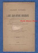 Livret Ancien De 1890 Par L'abbé LAPRIE - Oraison Funèbre De Jean Antoine BORDENAVE Chanoine De Bayonne , Curé De Pau - Lorraine - Vosges