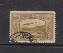 New Guinea SG 217 1939 Bulolo Goldfields Four Pennies Olive Used - Papua New Guinea