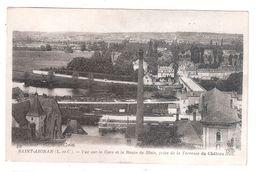 CPA 41 Saint Aignan Vue Sur La Gare Et La Route De Blois Prise De La Terrasse Du Chateau ACHETEZ IMMEDIATEMANT - Saint Aignan