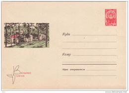 Lithuania USSR 1965 Vilnius, Antakalnis - Lituanie