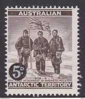 Australian Antarctic Territory  ASC 2 1959 Definitives 5d Brown MNH - Unused Stamps