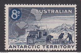 Australian Antarctic Territory  ASC 4 1959 Definitives 8d Blue MNH - Unused Stamps
