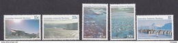 Australian Antarctic Territory  ASC 67-71 1985 Antarctic Scenes II  MNH - Unused Stamps