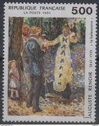"Timbre FRANCE - 1991 - Auguste Renoir - Yvert 2692 Neuf ""La Balançoire"" - France"