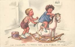 CPA ILLUSTRATEUR LAGARDE / ENFANT - Illustrateurs & Photographes