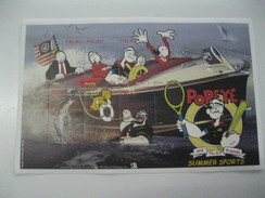 Palau Popeye - Infancia & Juventud