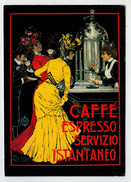 MAXICARD    CAFFE'  ESPRESSO  SERVIZIO  ISTANTANEO   2 SCAN   (VIAGGIATA) - Caffé