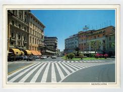 MAXICARD    MONTECATINI  TERME   PIAZZA  DEL  POPOLO         2 SCAN   (VIAGGIATA) - Italia