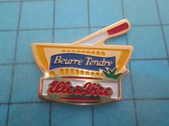 PIN715C Pin's Pins / ALIMENTATION : BEURRE TENDRE DE NORMANDIE ELLE & VIRE Rare Et De Belle Qualité !! - Alimentation