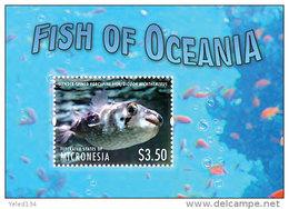 MICRONESIA  MINT N.H SCOTT # ?? ; IGPC 1314 SS  ( MARINE LIFE ; FISH - Micronesia