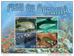 MICRONESIA  MINT N.H SCOTT # ?? ; IGPC 1315 SH  ( MARINE LIFE ; FISH - Micronesia