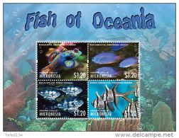 MICRONESIA  MINT N.H SCOTT # ?? ; IGPC 1314 SH  ( MARINE LIFE ; FISH - Micronesia