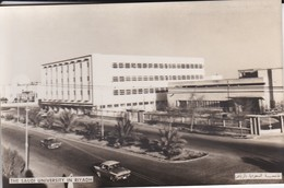 SAUDI ARABIA--RARE--the Saudi University In Riyadh--munistry Of Information--carte Photo--voir 2 Scans - Saudi-Arabien