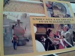 GUASTALLA FESTA FIERA LA GNOCCATA 2008 TRENO TRAIN E RE GNOCCO  N2008 GF15599 - Reggio Emilia