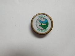 Insigne  ( No Pin's ) , Golf De Clécy , Calvados - Golf