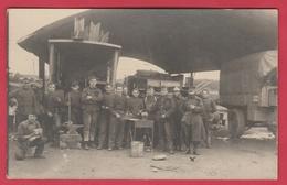 Camp D'Elsenborn - Manoeuvres De La Division Légère En 1924 - Carte Photo ( Voir Verso ) - Bütgenbach