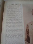 GENTE NOSTRA 1934 LE TRE SENESI SIENA POSITANO SORRENTO AMALFI PRESEPI D'ABRUZZO PONTINIA - Libri, Riviste, Fumetti