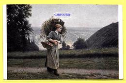 CPA Femme Camille BELLANGER Retour Des Champs ( Peinture Tableau ) Pommes De Terre - Femmes