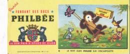 AC - B2651  - Buvard Pain D'épices PHILBEE ( Non Utilisé) - Gingerbread