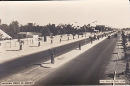 SAUDI ARABIA--RARE--modern Street In Jeddah--munistry Of Information--carte Photo--voir 2 Scans - Saudi-Arabien