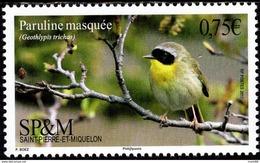 St. Pierre & Miquelon - 2017 - Common Yellowthroat - Geothlypis Trichas - Mint Stamp - St.Pierre & Miquelon