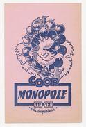 Buvard - COOP MONOPOLE - Vin Superieur - Buvards, Protège-cahiers Illustrés