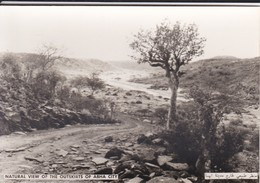 SAUDI ARABIA--RARE--natural View Of The Outskirts Of Abha City--munistry Of Information--carte Photo--voir 2 Scans - Arabie Saoudite