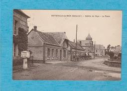Sotteville-sur-Mer. - Centre Du Pays. - La Place. - Sotteville Les Rouen