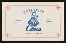 Buvard - CEMA - Margarine - Buvards, Protège-cahiers Illustrés
