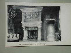 SARTHE CHATEAU DU LUDE LA SALLE A MANGER - France