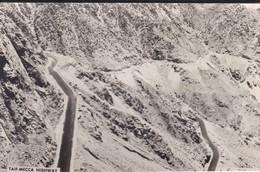 SAUDI ARABIA--RARE--taif-mecca  Highway--munistry Of Information--carte Photo--voir 2 Scans - Arabie Saoudite
