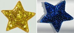 Star Appliques Sequins Applikationen Pailletten Sew On Embroidery Handmade Ap54 - Theatre, Fancy Dresses & Costumes