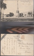 13094) PERU' LIMA MONUMENTO DOS DE MAYO VIAGGIATA 1910 BOLLO ASPORTATO - Perù