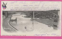17 / 7 / 258  -    WASHINGTON  BRIDGE   NEW  YORK - Ponts & Tunnels