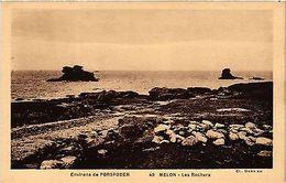 CPA  Environs De Porspoder - Melon - Les Rochers  (457518) - France