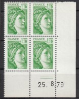 N° 2058 - X X - Daté 25/08/79 - Ecken (Datum)